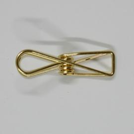 fish clip goud, 50st