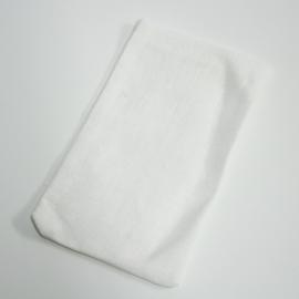wit linnen zakje, 5st