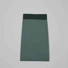 papieren zakje blauw , 25 st