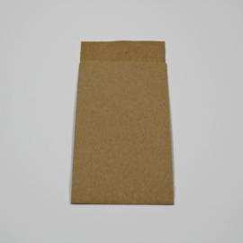 papieren zakje muskatbruin , 25 st