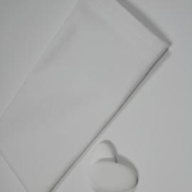 wit katoenen zakje, 5st