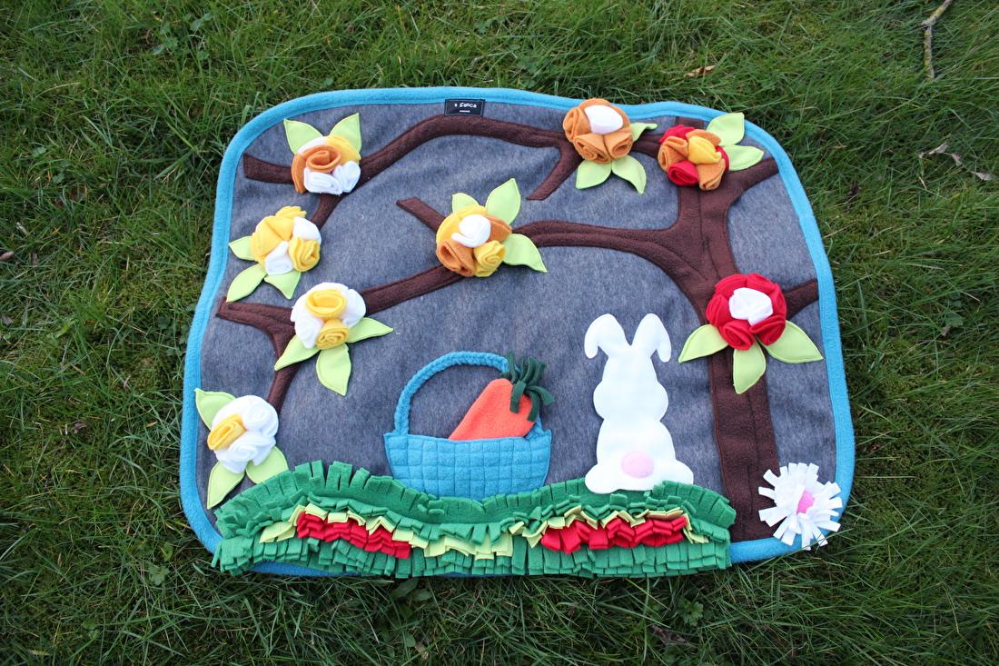 snuffelmat voor konijnen