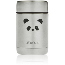 Nadja food jar - panda stainless steel - Liewood