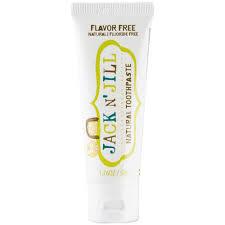 Tandpasta bio - flavor free - Jack'N Jill