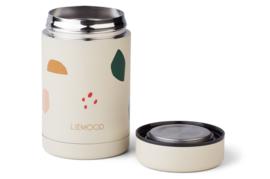 Food jar Bernard - Geometric foggy mix - Liewood