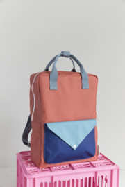 Backpack envelope  - Large - Sticky Lemon