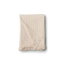 Magda Muslin blanket - Sandy - Liewood