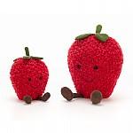 Knuffel - Amuseable strawberry small- Jellycat