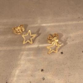 Oorring single - twisted star - Selva Sauvage