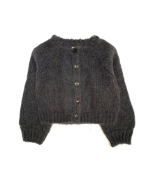 Kids Cardigan - Iron - Long Live The Queen