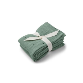 Lewis muslin cloth - Classic dot Peppermint - Liewood