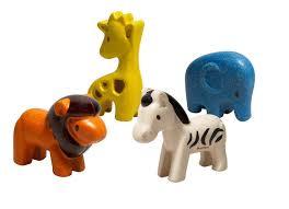 Wild life dieren  - Plan Toys