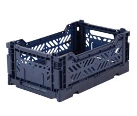 Ay-kasa - mini box - navy - Lillemor