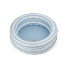 Pool Leonore - stripes sea blue/creme de la creme - Liewood