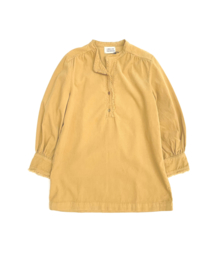 Kids Minidress with Ruffles - Dirty Yellow- Long Live The Queen