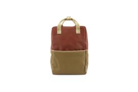 Backpack Large - Colourblocking - Sticky Lemon
