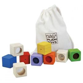 Activiteiten blokken  - Plan Toys