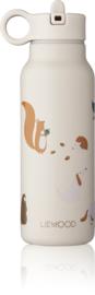 Falk water bottle 350ml - Friendship multi mix - Liewood