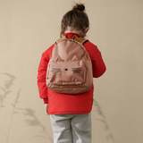 Allan Backpack - Cat tuscany rose - Liewood