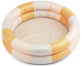 Pool Leonore - stripes peach/sandy/yellow mellow - Liewood