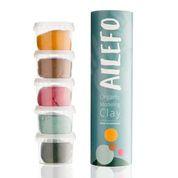 Organische Klei - basic colors - small tube - Ailefo