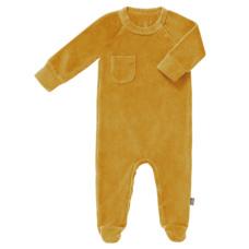 pyjama velours met voet - Mimosa - Fresk