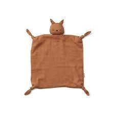 Agnete knuffeldoek - cat terracota - Liewood