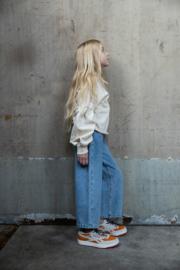 Sandro cropped jeans organic - Blue - I Dig Denim
