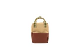 Backpack  small - Colourblocking - Sticky Lemon