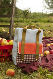 Backpack Large - Gingham - Sticky Lemon