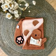 Baby shower glove - Bear rust - Invented 4 kids