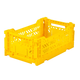Ay-kasa - mini box - yellow - Lillemor