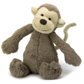 Knuffel - bashful monkey medium - Jellycat