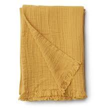 Magda Muslin blanket - Yellow Mellow - Liewood