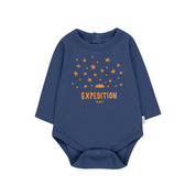Baby Body Longsleeve - Expedition - Tinycottons