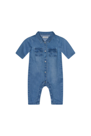 Rowan baby denim overall - Blue - I Dig Denim