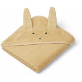 Badcape Albert - Rabbit smoothie yellow - Liewood