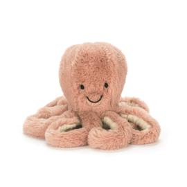 Knuffel - Odell Octopus Baby - Jellycat
