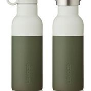 Neo water bottle - Hunter green/dove blue mix - Liewood