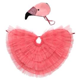 Verkleedkledij - flamingo - Meri Meri