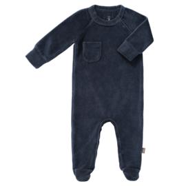 pyjama velours met voet - Indigo - Fresk