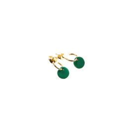 hangers - Thais - emerald - Selva Sauvage
