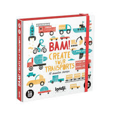 Stamps - BAM create your transports - Londji