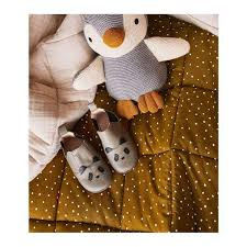 Ebbe quilted blanket - Confetti olive - Liewood