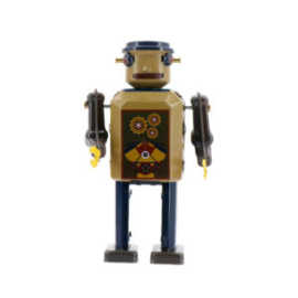 Gear Robot - Mr and Mrs Tin
