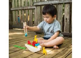 Balancerende boot  - Plan Toys