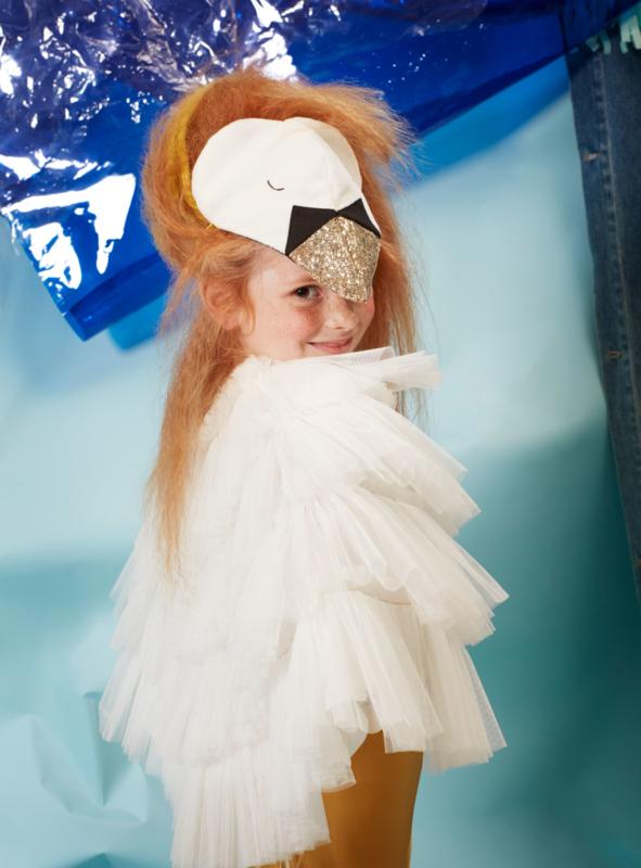 Verkleedkledij - zwaan - Meri Meri