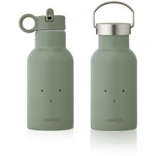 Anker drinking bottle - rabbit faune green - Liewood