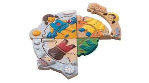 Weer puzzle  - Plan Toys