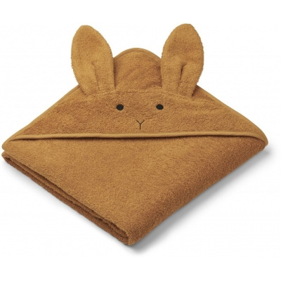 Badcape Albert - Rabbit mustard - Liewood